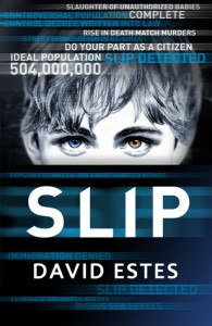"Book Cover for ""Slip"" by David Estes"