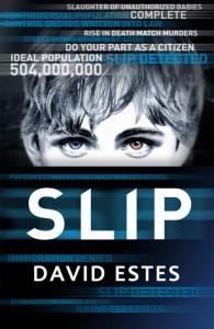 "Book Cover for ""Slip"" by David Estes"