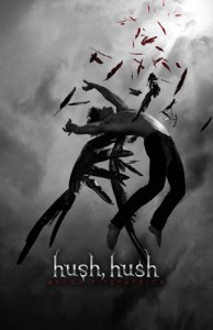 """Book Cover for """"Hush, Hush"""" by Becca Fitzpatrick"""