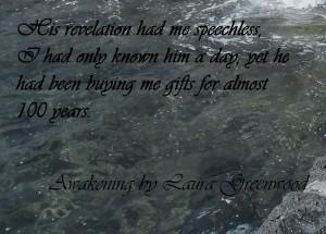 Teaser for Awakening by Laura Greenwood