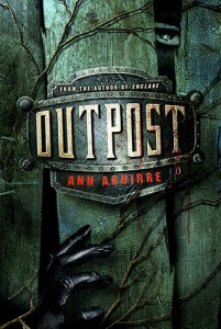 "Book Cover for ""Outpost"" by Ann Aguirre"