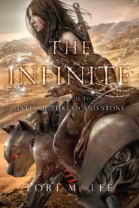 """Book Cover for """"The Infinite"""" by Lori M. Lee"""