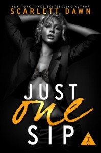 "Book Cover for ""Just One Sip"" by Scarlett Dawn"