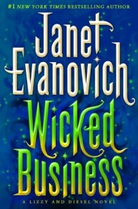 """Book Cover for """"Wicked Business"""" by Janet Evanovich"""