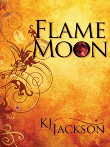 "Book Cover for ""Flame Moon"" by K.J. Jackson"