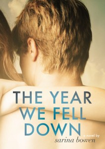 "Book Cover for ""The Year We Fell Down"" by Sarina Bowen"