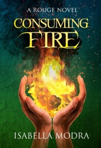 "Book Cover for ""Consuming Fire"" by Isabella Modra"