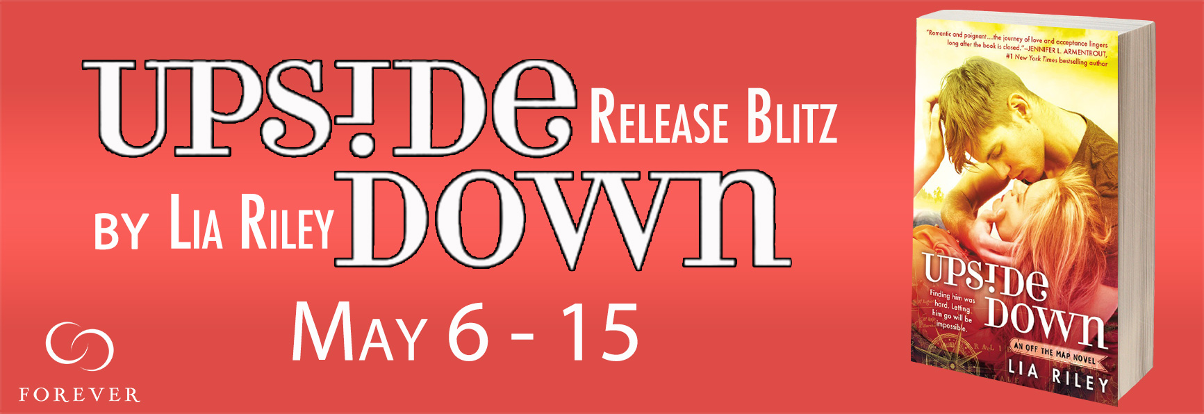 Release Blitz: Upside Down by Lia Riley