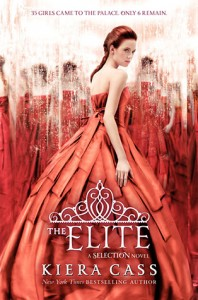 "Book Cover for ""The Elite"" by Kiera Cass"