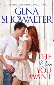 "Book Cover for ""The One You Want"" by Gena Showalter"