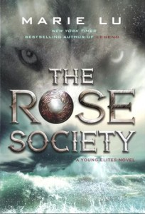 """Book Cover for """"The Rose Society"""" by Marie Lu"""