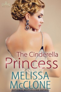 "Book Cover for ""The Cinderella Princess"" by Melissa McClone"