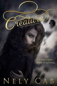 """Book Cover for """"Creatura"""" by Nely Cab"""