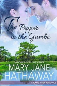 "Book Cover for ""The Pepper in the Gumbo"" by Mary Jane Hathaway"