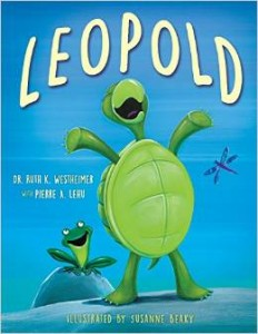 "Book Cover for ""Leopold"" by Dr. Ruth Westheimer"
