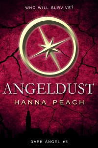 "Book Cover for ""Angeldust"" by Hanna Peach"
