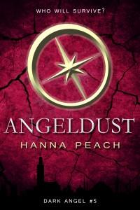 """Book Cover for """"Angeldust"""" by Hanna Peach"""