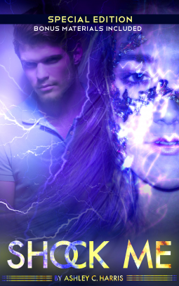 "Book Cover for ""Shock Me Special Edition"" by Ashley C. Harris"