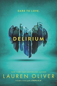 """Book Cover for """"Delirium"""" by Lauren Oliver"""