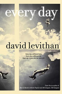"Book Cover for ""Every Day"" by David Levithan"