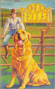 "Book Cover for ""Old Yeller"" by Fred Gipson"
