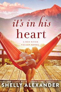 "Book Cover for ""It's in His Heart"" by Shelly Alexander"