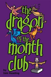 "Book Cover for ""the dragon of the month club"" by Iain Reading"
