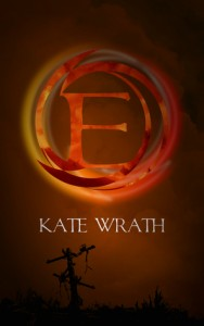 "Book Cover for ""E"" by Kate Wrath"