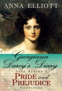 "Book Cover for ""Georgiana Darcy's Diary"" by Anna Elliott"