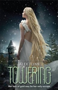 "Book Cover for ""Towering"" by Alex Flinn"