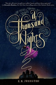 "Book Cover for ""A Thousand Nights"" by E.K. Johnson"