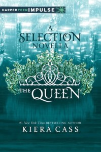 "Book Cover for ""The Queen"" by Kiera Cass"