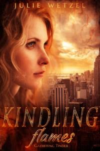 """Book Cover for """"Gathering Tinder"""" by Julie Wetzel"""