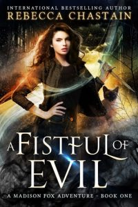 "Book Cover for ""A Fistful of Evil"" by Rebecca Chasten"