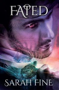"""Book Cover for """"Fated"""" by Sarah Fine"""