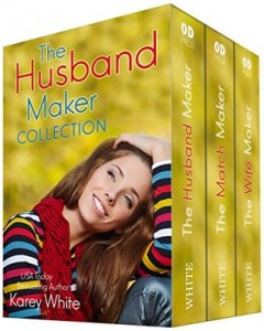 "Book Cover for ""The Husband Maker Boxed Set"" by Karey White"