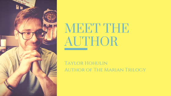 Meet the Author: Taylor Hohulin