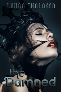 "Book Cover for ""The Damned"" by Laura Thalassa"