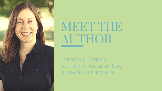 Meet the Author: Rebecca Chastain