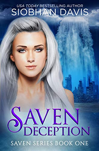"Book Cover for ""Saven: Deception"" by Siobhan Davis"