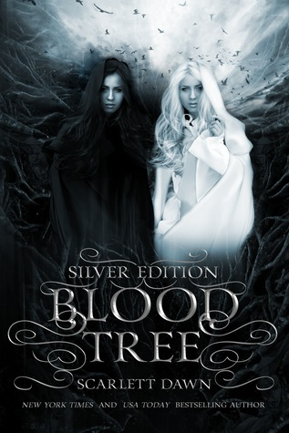 "Book Cover for ""Blood Tree Silver Edition"" by Scarlett Dawn"