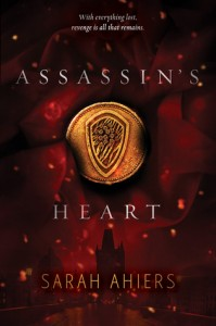 """Book Cover for """"Assassin's Heart"""" by Sarah Ahiers"""