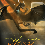 "Book Cover for ""For the Heart of Dragons"" by Julie Wetzel"
