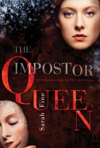 "Book Cover for ""The Impostor Queen"" by Sarah Fine"