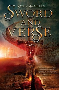 """Book Cover for """"Sword and Verse"""" by Kathy MacMillan"""