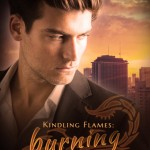 "Book Cover for ""Burning Nights"" by Julie Wetzel"