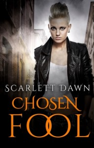 "Book Cover for ""Chosen Fool"" by Scarlett Dawn"