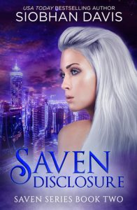 "Book Cover for ""Saven: Disclosure"" by Siobhan Davis"