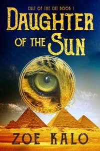 """Book Cover for """"Daughter of the Sun"""" by Zoe Kalo"""