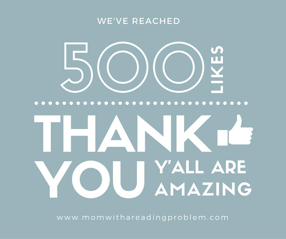 500 Likes Facebook
